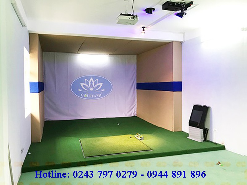 Bảo hành thiết bị phòng tập golf 3D