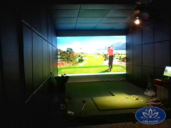 Phòng golf 3D tại Đức Trọng Lâm Đồng