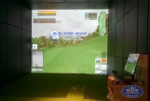 Phòng tập golf 3D thảm địa hình tại Đức Trọng Lâm Đồng