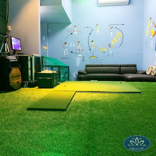 Lắp đặt phòng tập golf 3D Linh Lang Hà Nội