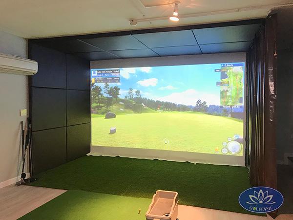 Phòng tập golf 3D Phùng Chí Kiên