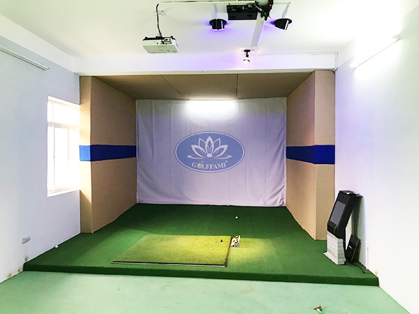 tư vấn thiết kế phòng tập golf 3D