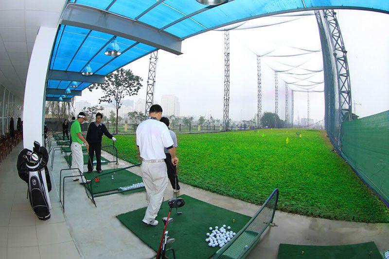 Địa chỉ sân tập chơi golf ở Hà Nội