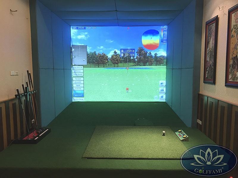 Hoàn thiện phòng tập golf 3d Hà Nội