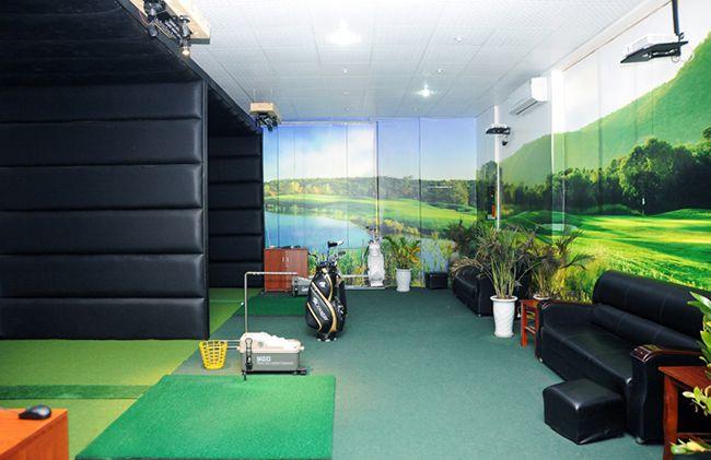 Giá phòng tập golf 3d