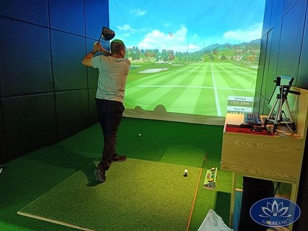 Trải nghiệm phòng tập golf 3D tại Hải Phòng