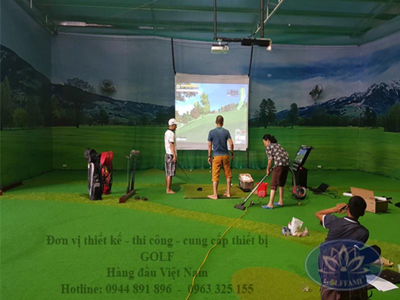 Hoàn thiện golf 3d Lào cai