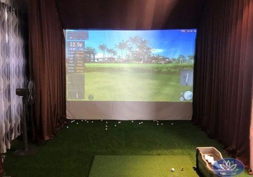 Phòng tập golf 3D tại Gò Vấp khi hoàn thiện