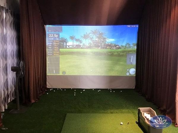 Phòng tập golf 3D tại Gò Vấp