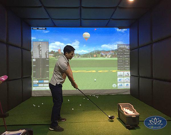 Thi công lắp đặt phòng golf 3d phú diễn
