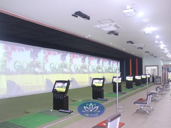 Phòng tập golf 3D tại Quảng Ninh