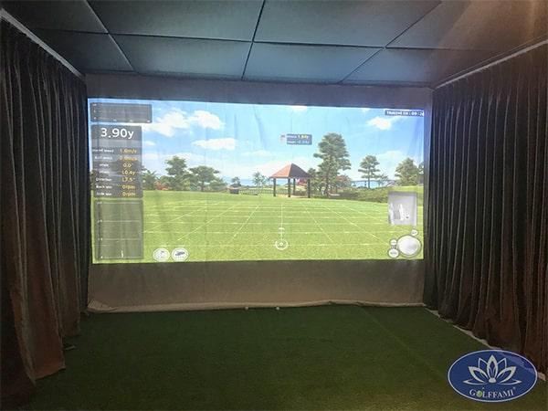 Phòng tập golf 3D tại Time City 1