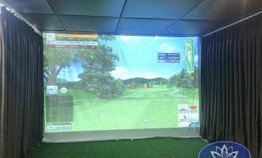 Phòng tập golf 3D tại Time City 2