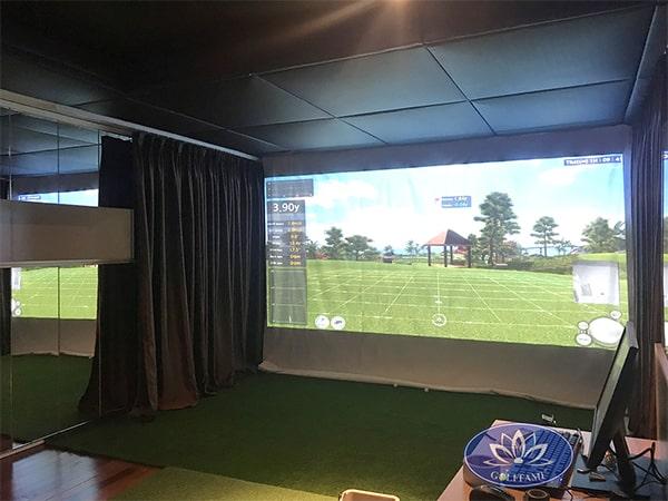 Phòng tập golf 3D tại Time City 3