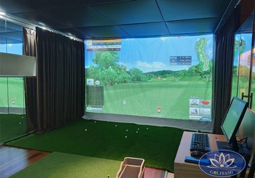 Phòng tập golf 3D tại Time City