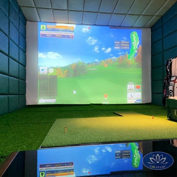 Phòng tập golf 3D tại Linh Lang Hà Nội