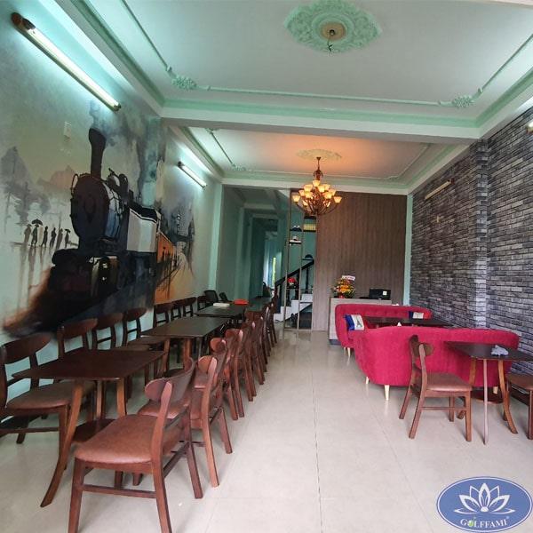 Quán coffee đoàn tàu tại coffee golf Đà Nẵng