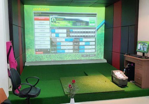 Phòng dịch vụ chơi golf 3D trong nhà