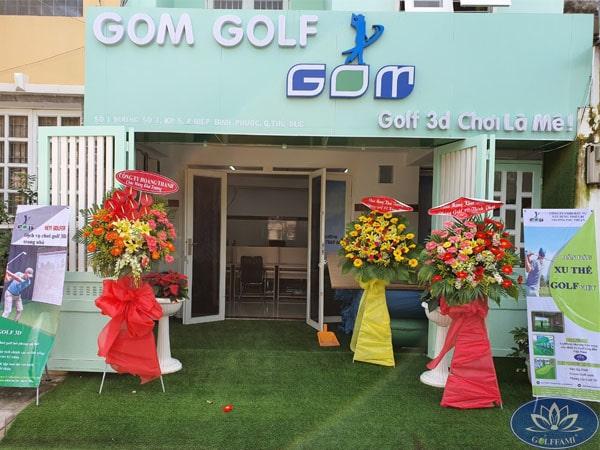 Tưng bừng khai trương phòng dịch vụ golf 3D