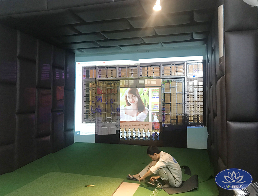 phòng tập golf 3d tại Đà Nẵng