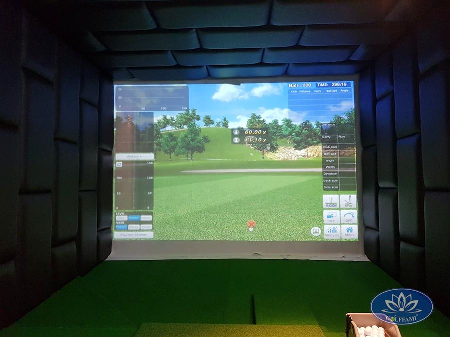 Hoàn thiện phòng tập golf 3d tại Đà Nẵng