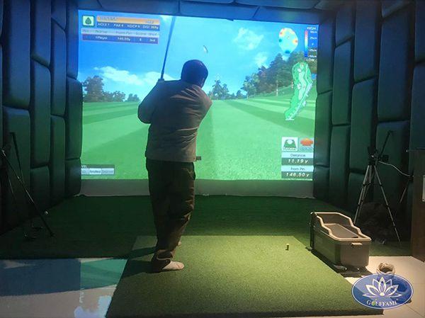 Lắp đặt phòng golf 3d TP Hạ Long
