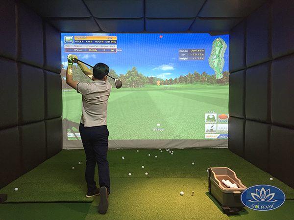 Dự án thi công phòng golf 3d Phú Diễn
