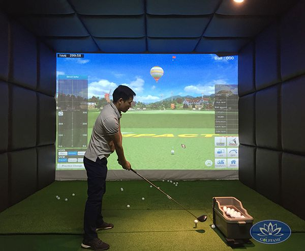 phòng golf 3d Phú Diễn