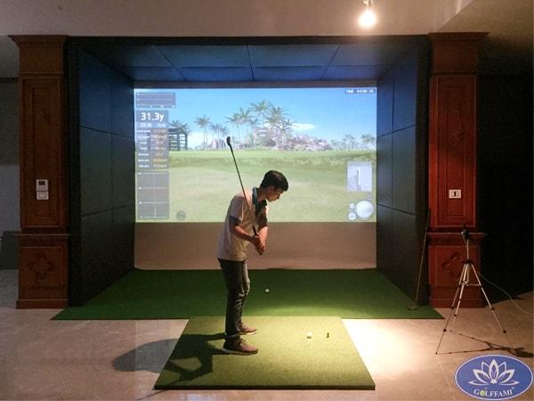 Lắp đặt phòng golf 3D tại Vũ Ngọc Phan