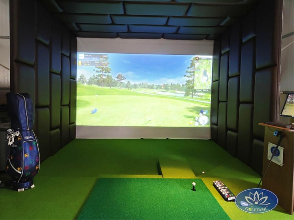 Phòng golf 3D Mr. Hội tại Lạc Long Quân