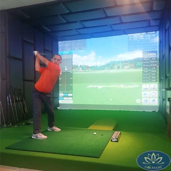 Phòng golf 3D tại tỉnh Bà Rịa Vũng Tàu