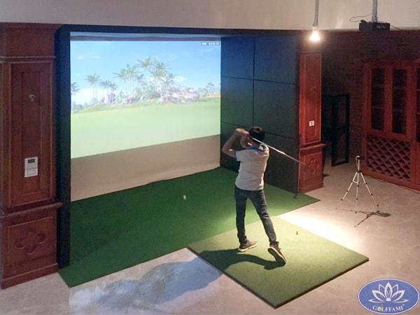 Phòng golf 3D Vũ Ngọc Phan Hà Nội