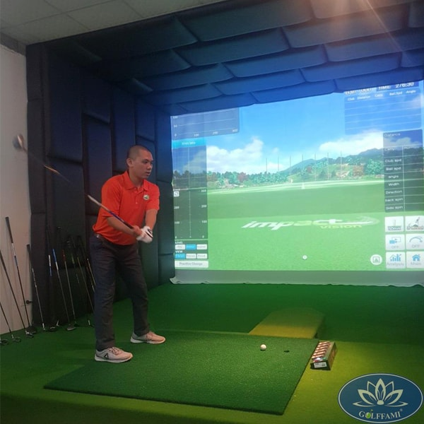 Phòng golf 3D Vũng Tàu