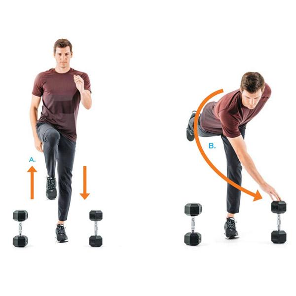 Bí quyết giúp golfer tăng khả năng cân bằng