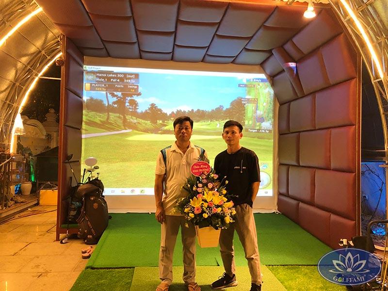 Bàn giao phòng golf 3d Bắc Ninh