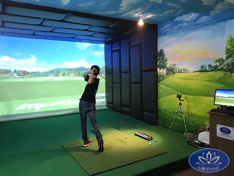 Phòng golf 3d Trần Duy Hưng