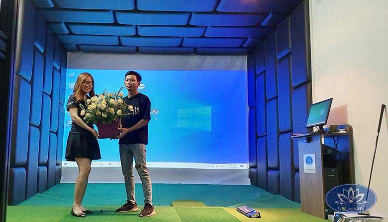Phòng tập golf 3D tại Văn Cao Hải Phòng