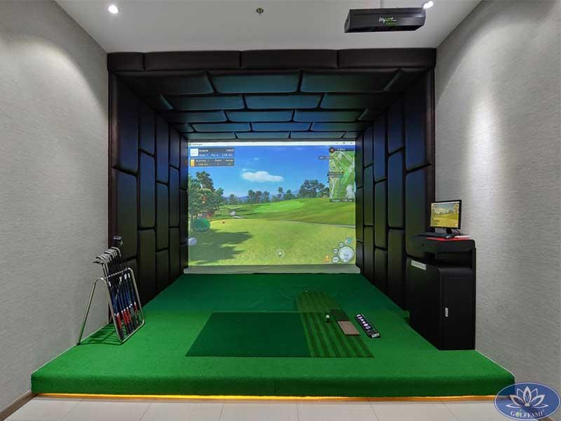 Lắp đặt chuỗi phòng golf 3D Hàm Nghi