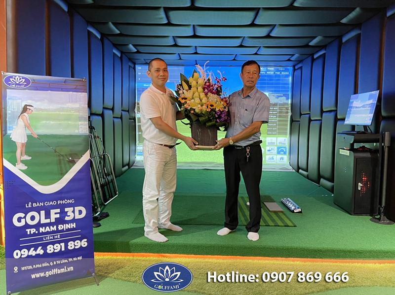 Golffami thi công phòng golf 3d tại thành phố Nam Định