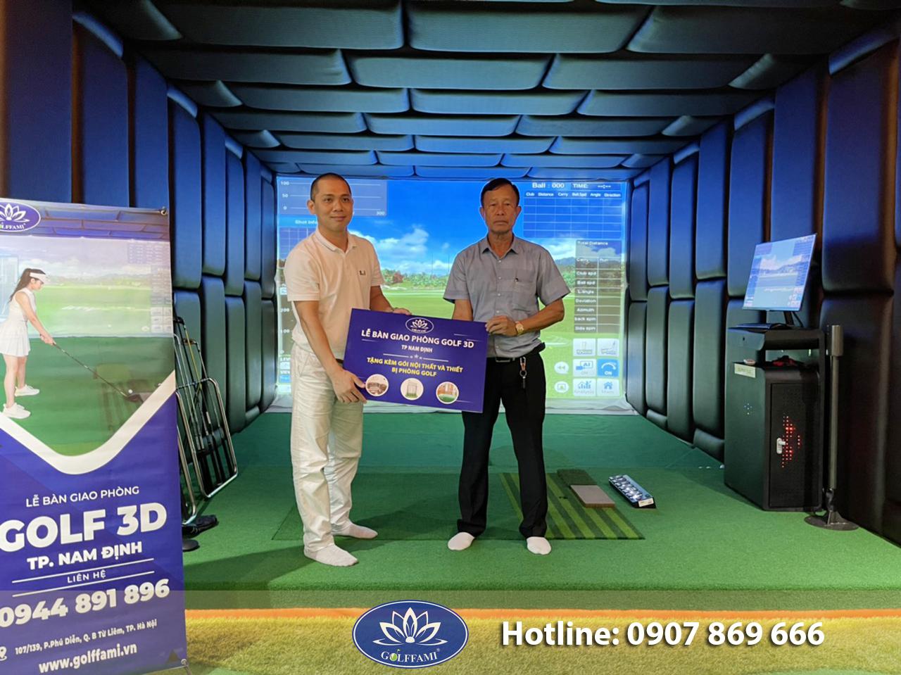Lễ bàn giao phòng golf 3d Nam Định