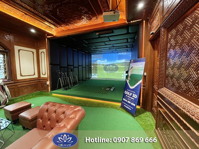Hoàn thiện phòng golf 3d Nam Định