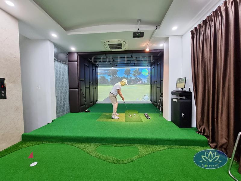 Hoàn thiện thiết kế phòng golf 3d