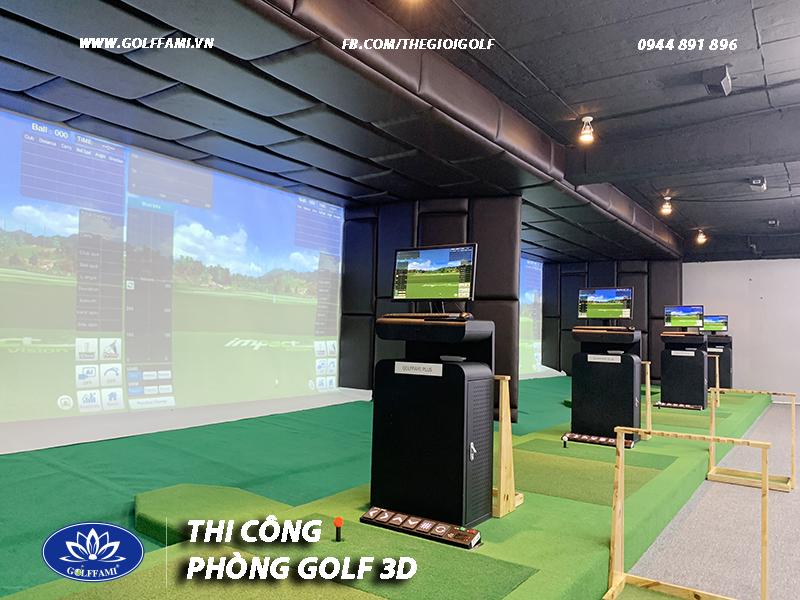 Chuỗi phòng golf 3d TAT golf Hà Nội