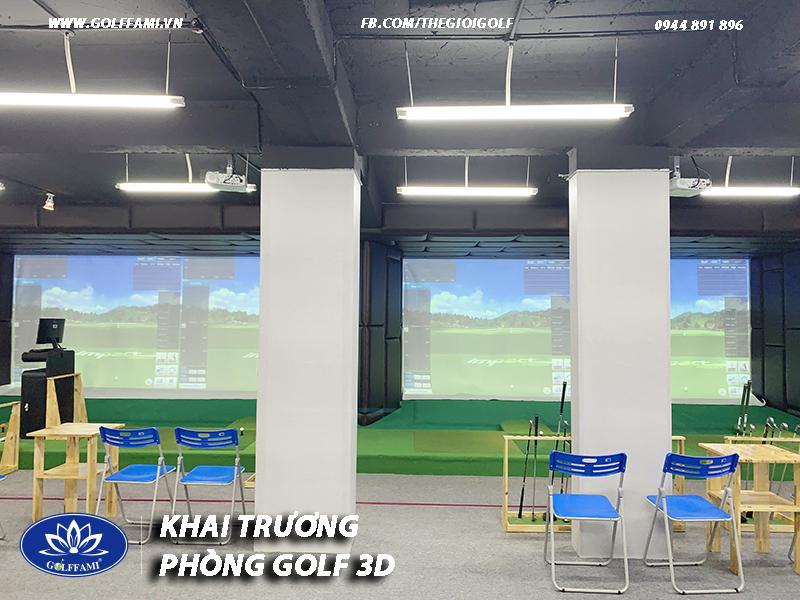 Khai trương chuỗi phòng golf 3d TAT golf
