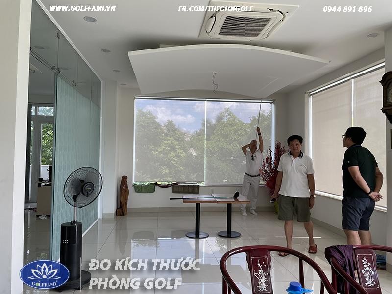 Khảo sát thiết kế phòng golf 3d