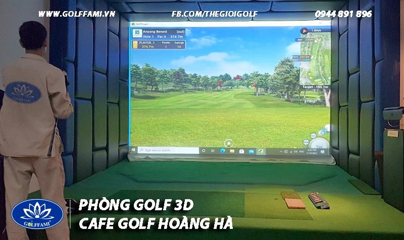 Cafe golf 3d Hoàng Hà Hà Nội