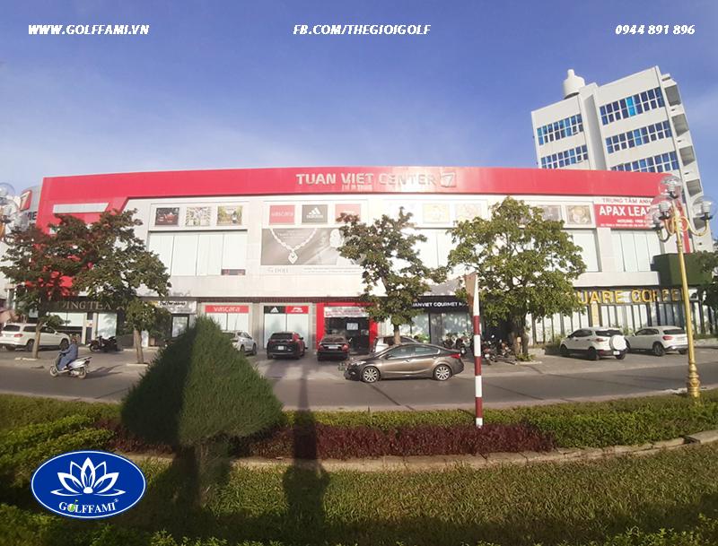 Phòng golf 3d trung tâm thương mại Tuấn Việt Quảng Bình