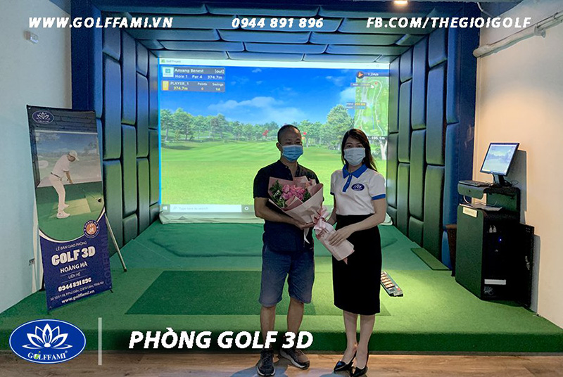 Chuỗi phòng golf 3d kinh Doanh Dịch Vụ Hoàng Hà Hà Nội