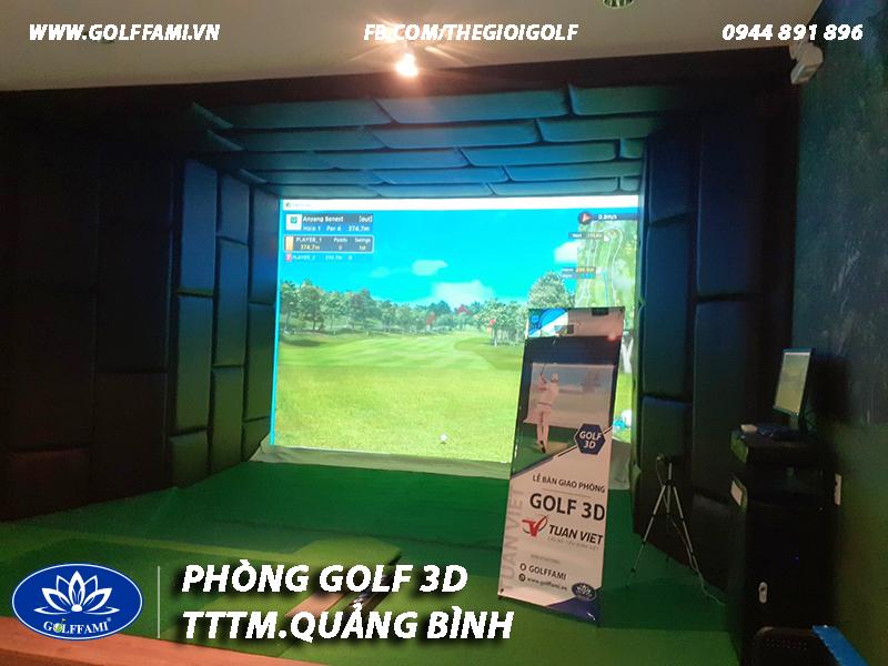 Phòng golf 3d TTTM Tuấn Việt Quảng Bình