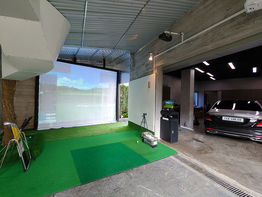 Golf màn hình